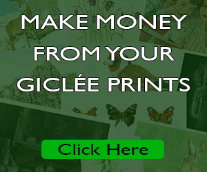 making money from your giclee prints