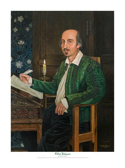 Geoff Tristram_William Shakespeares 400th Anniversary_The Artists Print Room