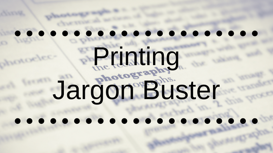 Jargon Buster - The Artists Print Room
