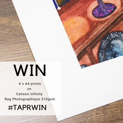 Win 4 x A4 Prints on Canson Infinity Rag Photographique!