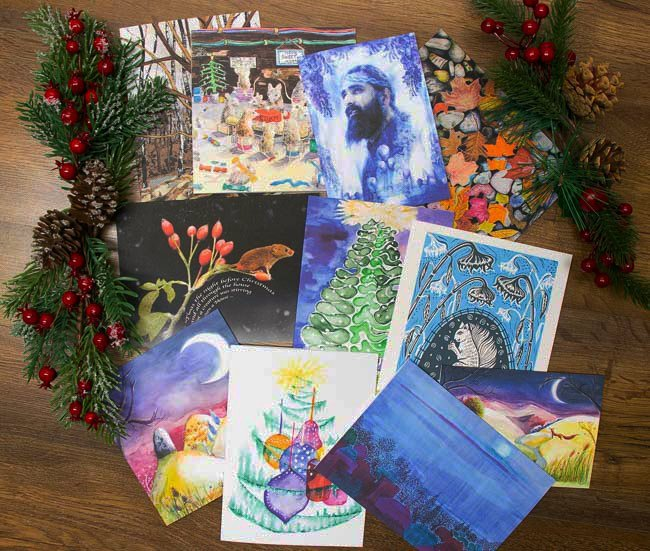 Bespoke Christmas Cards - The Artists Print Room