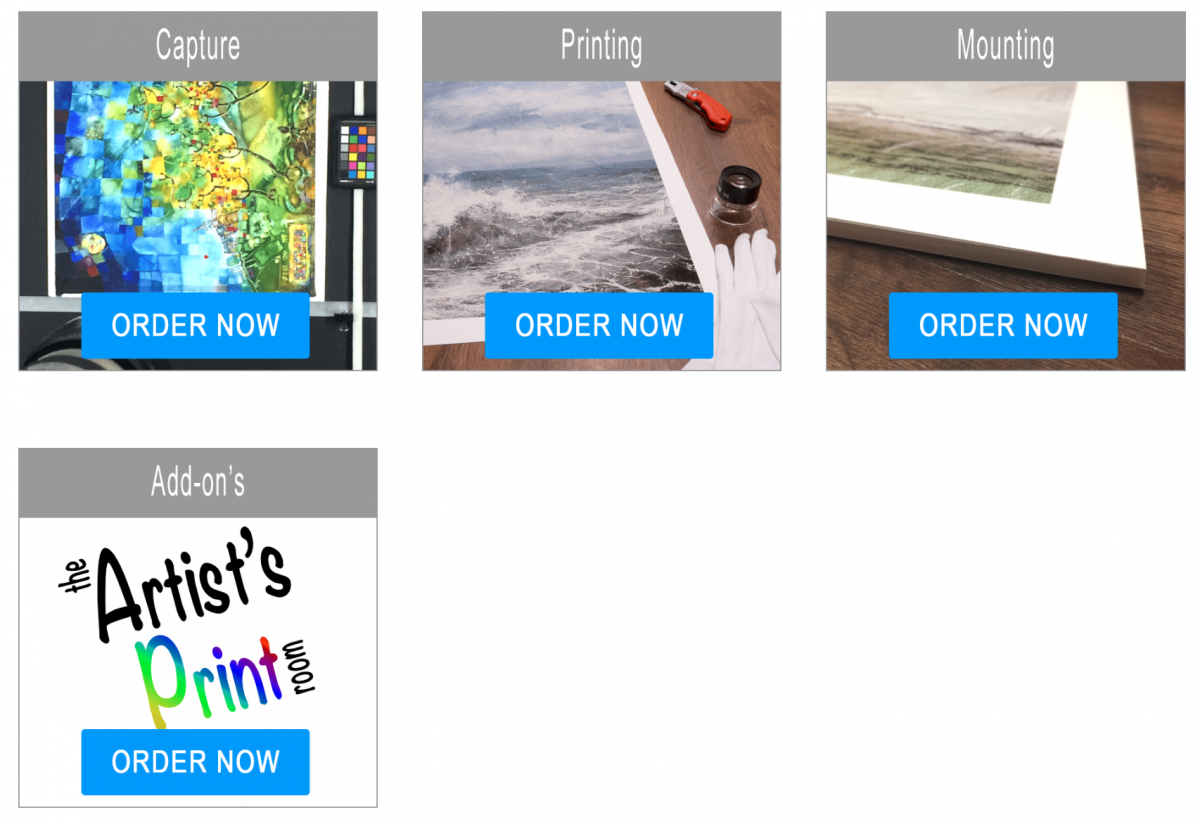 The Artists Print Room online shop