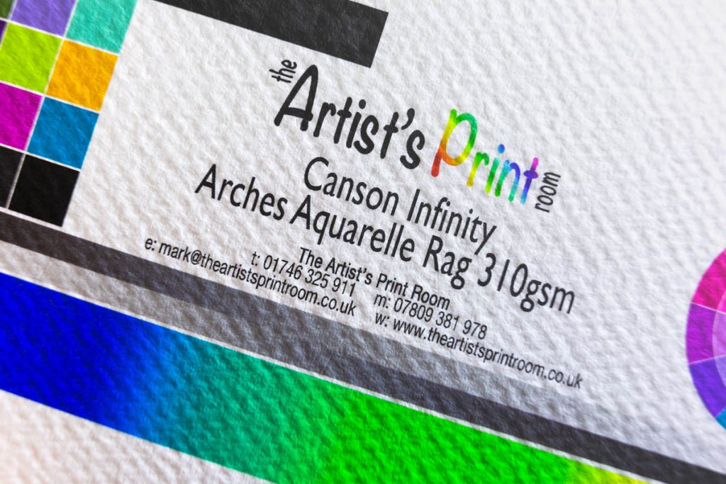 Canson Infinity Arches Aquarelle - The Artists Print Room