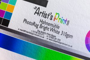 Hahnemühle PhotoRag Bright White - The Artists Print Room