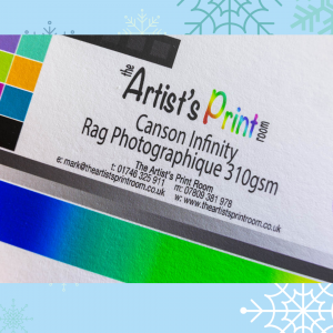 Canson Infinity Rag Photographique Paper Texture - The Artists Print Room