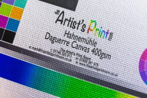 Hahnemühle Daguerre Canvas - The Artists Print Room